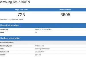 Бенчмарк говорит о подготовке смартфонов Samsung Galaxy A6 и A6+»