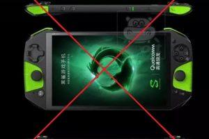 Фейковое изображение Xiaomi Blackshark сделало из игрового смартфона портативную консоль»
