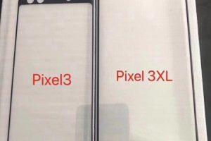 Google Pixel 3 XL получит экран с вырезом, Pixel 3 — обычную верхнюю рамку»