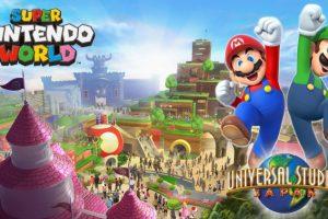 Первый парк развлечений Super Nintendo World обойдётся в $433 млн»